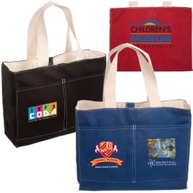 Tacoma Tote Bag with Your Slogan