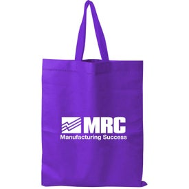 Tall-Value Tote Bag with Your Slogan