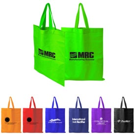 Tall-Value Tote Bag Branded with Your Logo