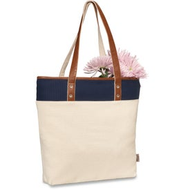 Monogrammed Taylor Cotton Fashion Tote Bag