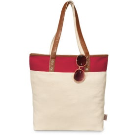 Monogrammed Taylor Cotton Fashion Tote Bag