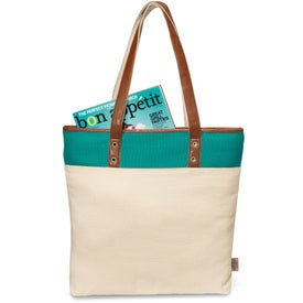 Taylor Cotton Fashion Tote Bag for Customization