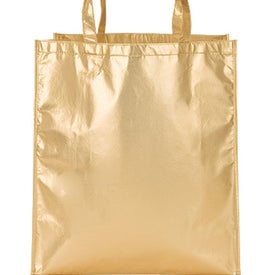 Teramo Metallic Tote for Your Organization