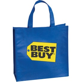 Textured Non Woven Tote Bag (Full Color Logo)
