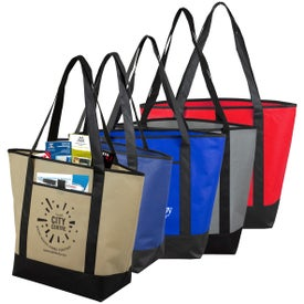 The City Life Travel Boat Tote Bag