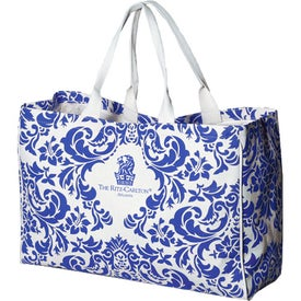 The Veranda City Tote Imprinted with Your Logo