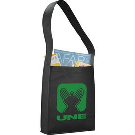 Cross Town Non-Woven Shoulder Tote Bags