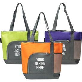 Go Getter Two-Tone Tote Bags