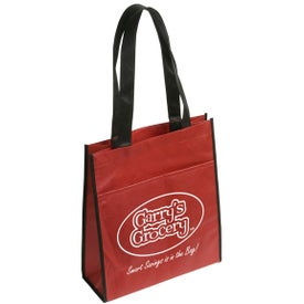 The Peak Tote Bag with Pocket for your School