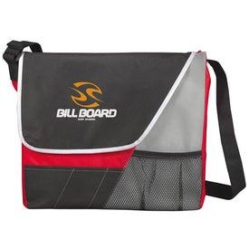 The Rhythm Messenger Bag Imprinted with Your Logo