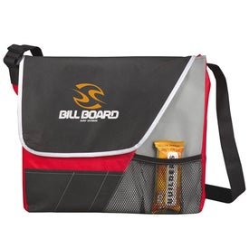 The Rhythm Messenger Bag with Your Logo