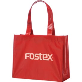 Rumba Laminated Tote Printed with Your Logo