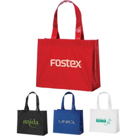 Rumba Laminated Non-Woven Shopper Tote Bag
