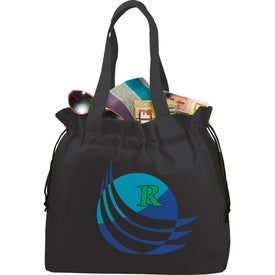 The Shell Cinch Tote Bag for Advertising