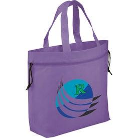 Logo The Shell Cinch Tote Bag