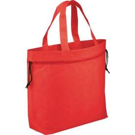 The Shell Cinch Tote Bag Branded with Your Logo