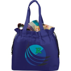 The Shell Cinch Tote Bag for Marketing