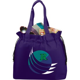 The Shell Cinch Tote Bag with Your Logo