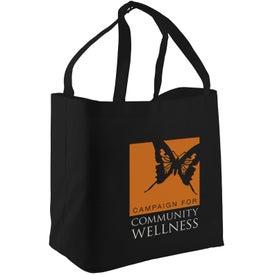 Logo The Shopper Shopping Tote Bag
