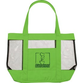 Customized The Surfside Mesh Tote Bag