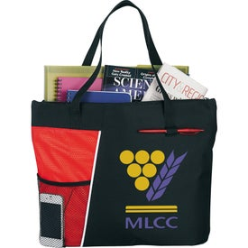 The Touch Base Meeting Tote Printed with Your Logo