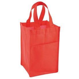 Branded Vino Tote Bag