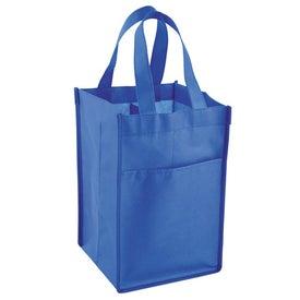 Advertising Vino Tote Bag