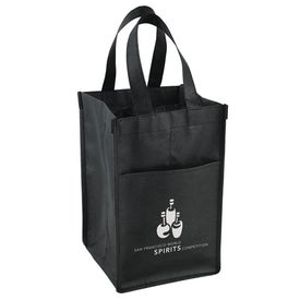 Vino Tote Bag Printed with Your Logo