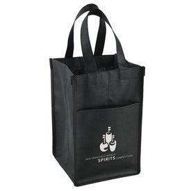 Vino Tote Bag Printed with Your Logo