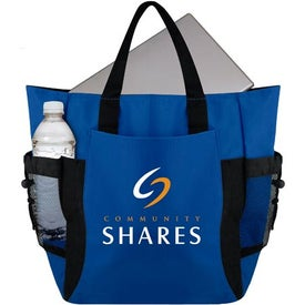 The Deluxe Eco Backpack Tote Bag Printed with Your Logo