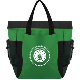 Monogrammed The Deluxe Eco Backpack Tote Bag