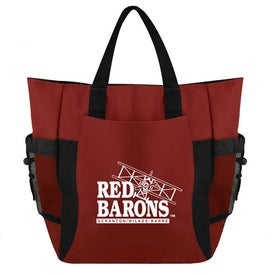 Promotional The Deluxe Eco Backpack Tote Bag