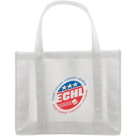 Personalized Recycled Non-Woven Shopper Bag