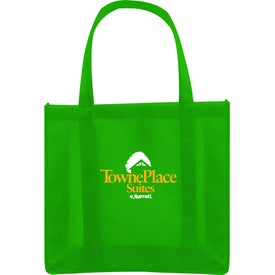 Monogrammed Recycled Non-Woven Shopper Bag