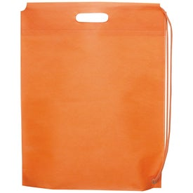 The Pippen Non-Woven Cinch with Your Logo