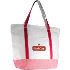 Ticking Tote Bag