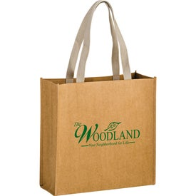 Tidal Wave Washable Kraft Paper Tote Bag