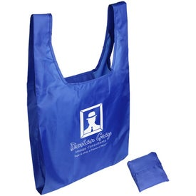 Tide Twister Folding Tote Bag with Your Logo