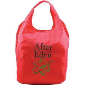 Tootsie Roll-up Tote Bag with Your Slogan