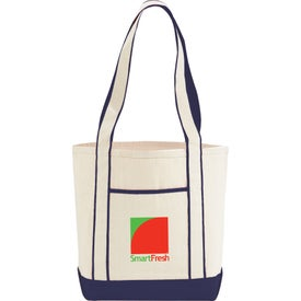 Topsail Cotton Canvas Boat Tote Bag