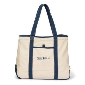 Customized Topsail Recycled Cotton Boat Tote