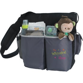Tot Diaper Bag with Your Slogan