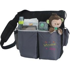 Tot Diaper Bag with Your Slogan