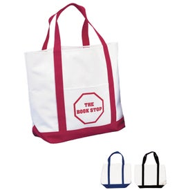 Pocket Shopper Tote Bag