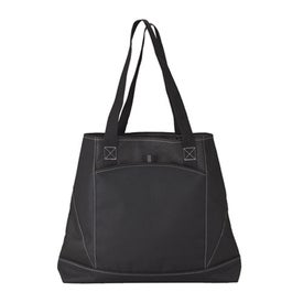Monogrammed Sovrano Pocket Tote Bag