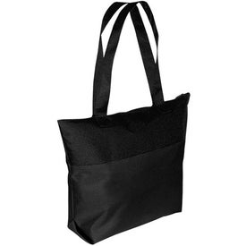 Two-Tone Tote Bag with Your Logo