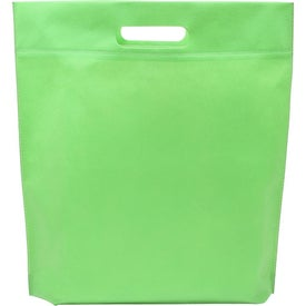 Die Cut Handle Tradeshow Nonwoven Tote for your School