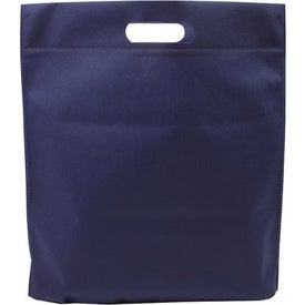 Die Cut Handle Tradeshow Nonwoven Tote Imprinted with Your Logo