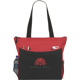 Printed TranSport It Tote