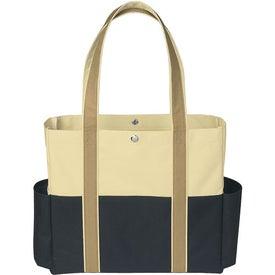 Promotional Tri-Color Tote Bag